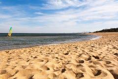 Bella spiaggia Immagini Stock