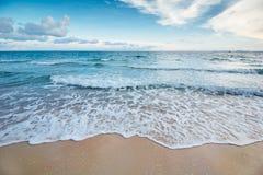 Bella spiaggia Fotografie Stock