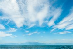 Bella spiaggia alla penisola di Chalkidiki Fotografie Stock Libere da Diritti