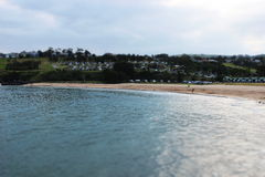 Bella spiaggia australiana immagine stock