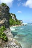 Bella spiaggia in Bali fotografie stock
