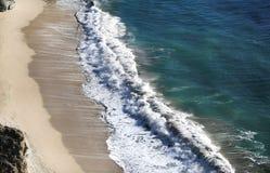 Bella spiaggia, Big Sur immagine stock