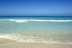Bella spiaggia caraibica Fotografie Stock