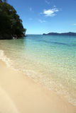 Bella spiaggia del Borneo! Immagini Stock