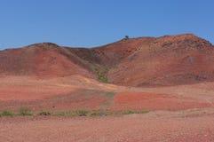Bella spiaggia del minerale metallifero fotografia stock