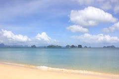 Bella spiaggia dell'isola di Koh Yao Noi, Tailandia fotografia stock libera da diritti