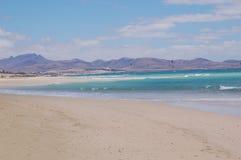 Bella spiaggia dell'oceano Fotografia Stock