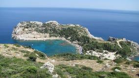 Bella spiaggia di Navagio con il naufragio sull'isola di Zacinto nel Gr immagini stock