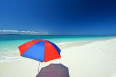 Bella spiaggia in Okinawa Immagini Stock