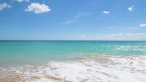 Bella spiaggia sabbiosa archivi video