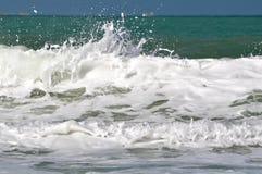 Bella spiaggia sotto il sole Fotografia Stock Libera da Diritti