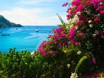Bella spiaggia su un'isola tropicale Koh Racha Yai Immagini Stock