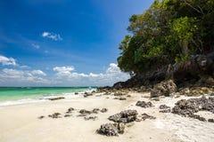 Bella spiaggia sull'isola della vasca Fotografia Stock Libera da Diritti