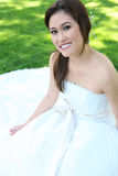 Bella sposa asiatica di cerimonia nuziale Fotografia Stock
