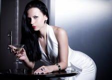 Bella sposa con trucco alla moda Fotografia Stock Libera da Diritti