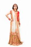 Bella sposa del bengalese Immagine Stock