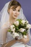 Bella sposa della giovane donna immagine stock libera da diritti