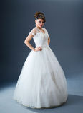 Bella sposa in studio Fotografie Stock