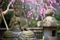 Bella statua del buddha Fotografia Stock Libera da Diritti