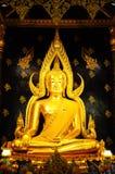 Bella statua di Buddha Chinnaraj Fotografia Stock Libera da Diritti