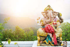 Bella statua di Ganesh fotografie stock