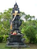Bella statua indù nell'isola di Bali fotografia stock libera da diritti