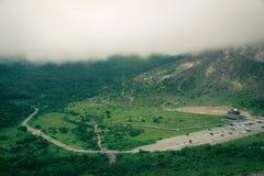 Bella strada della montagna Immagine Stock