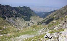 Bella strada delle alte montagne Immagine Stock Libera da Diritti