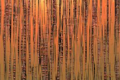 Bella struttura di bambù astratta fotografia stock libera da diritti