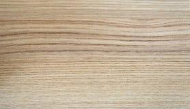 Bella struttura di legno falsa allineata regolare beige della stampa Immagine Stock Libera da Diritti