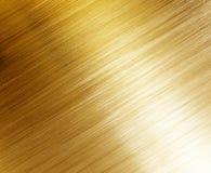 Bella struttura lucidata dell'oro Fotografia Stock