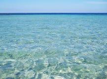 Bella superficie del mare Immagini Stock