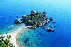 Bella Taormina di Isola Immagini Stock