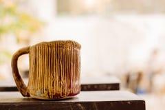 Bella tazza ceramica Fotografia Stock Libera da Diritti