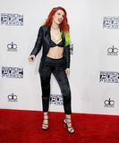 Actress Bella Thorne. Bella Thorne at the 2016 American Music Awards held at the Microsoft Theater in Los Angeles, USA on November 20, 2016 royalty free stock photos