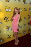 Bella Thorne arriving at the Premiere Of Disney Channel's   Royalty Free Stock Photography