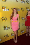 Bella Thorne arriving at the Premiere Of Disney Channel's   Stock Photo