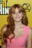 Bella Thorne arriving at the Premiere Of Disney Channel's   Stock Photography