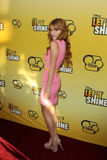 Bella Thorne arriving at the Premiere Of Disney Channel's   Stock Images