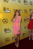 Bella Thorne arriving at the Premiere Of Disney Channel's   Stock Photos
