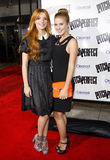 Bella Thorne and Caroline Sunshine Stock Images