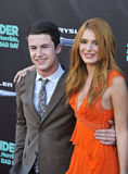 Bella Thorne & Dylan Minnette Stock Photography