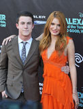 Bella Thorne & Dylan Minnette Stock Images