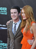 Bella Thorne & Dylan Minnette Royalty Free Stock Images