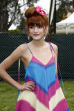 Bella Thorne, Elizabeth Glaser Royalty Free Stock Photos