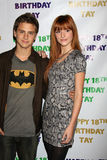 Bella Thorne, Garrett Backstrom Lizenzfreie Stockfotos