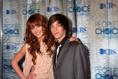 Bella Thorne, Jimmy Bennett Royalty Free Stock Images
