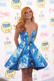 Bella Thorne. LOS ANGELES, CA - AUGUST 10, 2014: Bella Thorne at the 2014 Teen Choice Awards at the Shrine Auditorium stock photos