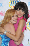 Bella Thorne & Zendaya Coleman Stock Photography