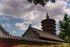 Bella torre del wenfeng Fotografia Stock